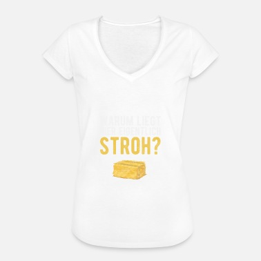 Porn Bar Why is straw here? Gift porn - Women's Vintage T-Shirt