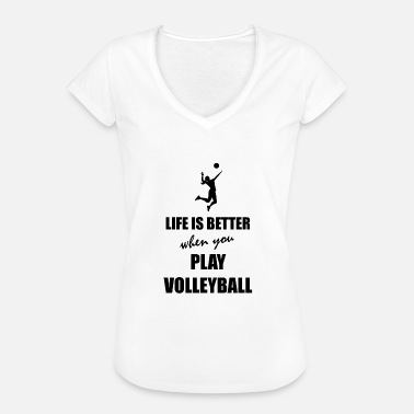 Beachvolley beachvolley - Dame vintage T-shirt
