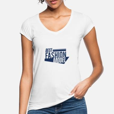 Model Topmodel Model Mode Model Topmodel Catwalk Modeln Modeln - Frauen Vintage T-Shirt