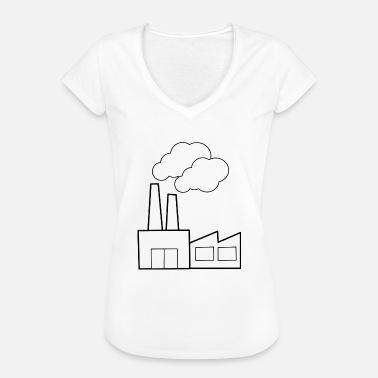 ef3b0aa35c698 Fabric fábrica - Camiseta vintage mujer