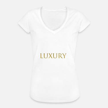 Luxe luxe - T-shirt vintage Femme