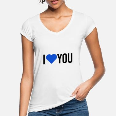 I Heart I love you - Women's Vintage T-Shirt