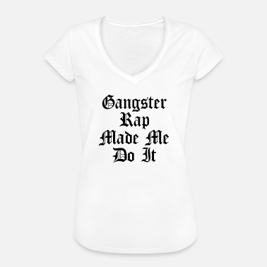 Citation Rap Gangster Rap citation - T-shirt vintage Femme