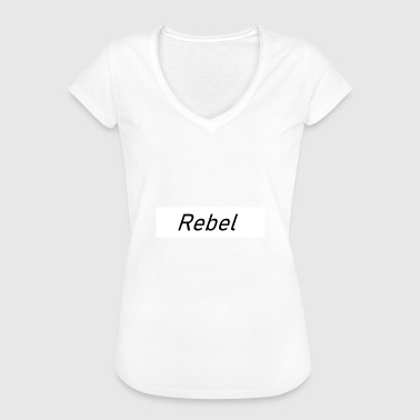 Rebel Flag Rebel - Dame vintage T-shirt