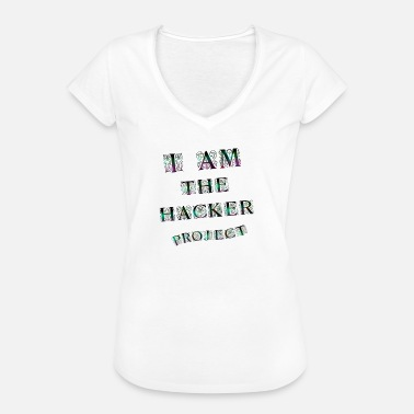 Hacker !!! Hacker Project !!! - Women's Vintage T-Shirt