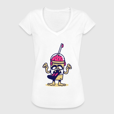 Eat Brain - Women's Vintage T-Shirt