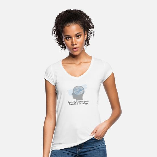 Message T-Shirts - t-shirt with positive message - Women's Vintage T-Shirt white