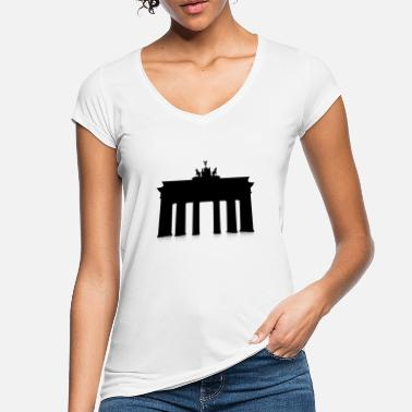 Fall Brandenburg Gate - Vintage T-shirt dam