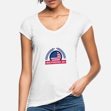 July Fourth Fourth of July Independence day - Women's Vintage T-Shirt