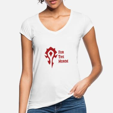Horde For the horde! Wow - Women's Vintage T-Shirt