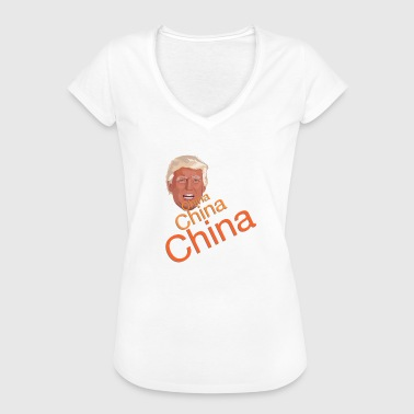 Donald Trump - Chine Chine Chine - T-shirt vintage Femme