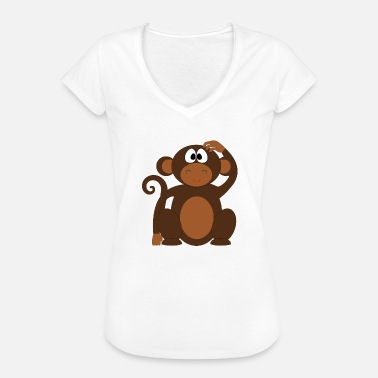 Cheeky Monkey Monkey, monkey - Women's Vintage T-Shirt