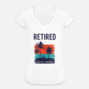 Retirement Retired - Women's Vintage T-Shirt