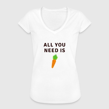 All You Need Is Carott - Women's Vintage T-Shirt