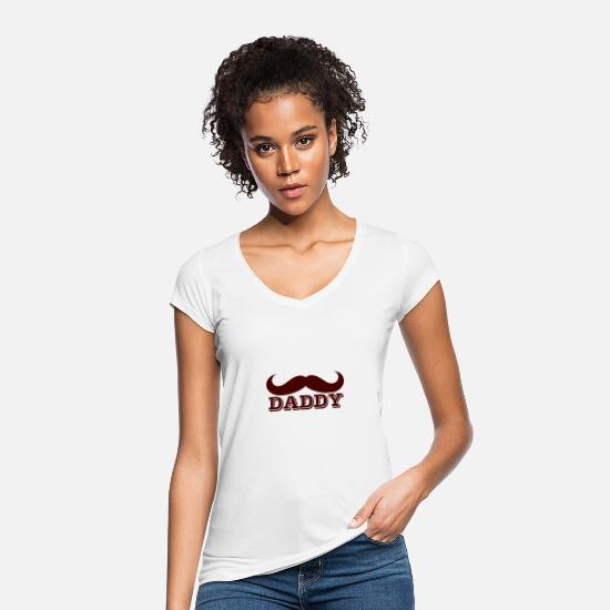 Daddy's Girl T-Shirts - Daddy - Frauen Vintage T-Shirt Weiß