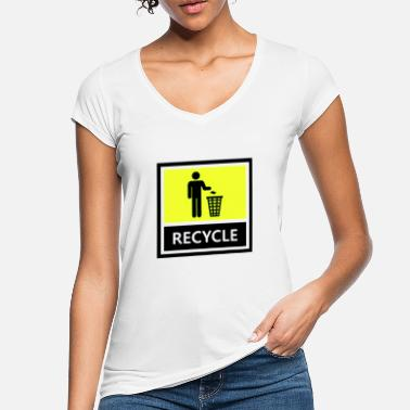 Recycle Recycle - Frauen Vintage T-Shirt