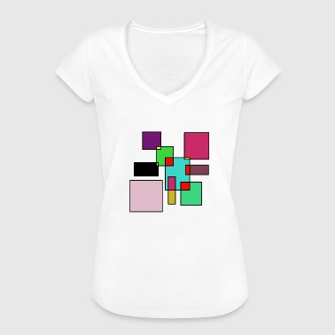 Realism Neo modern meets youthfulness and realism - Women's Vintage T-Shirt