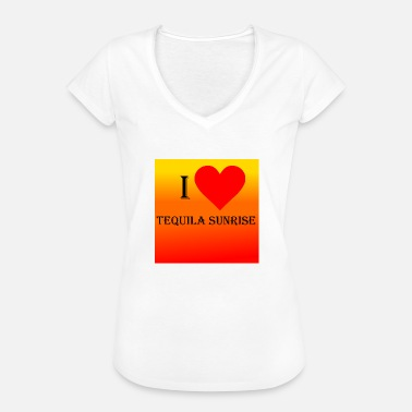 I Love Tequila I Love Tequila Sunrise - Women's Vintage T-Shirt