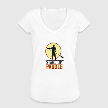 Paddle boat paddle paddle rowing rafting gift - Women's Vintage T-Shirt