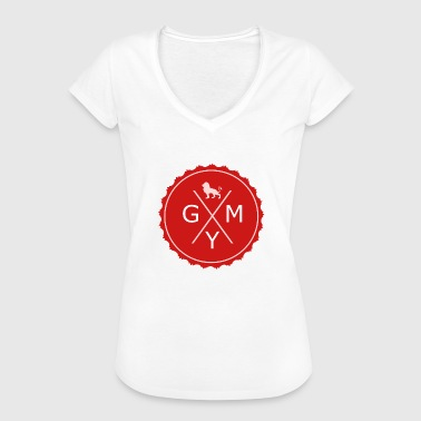 Gym Logo Red - Women's Vintage T-Shirt
