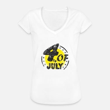 Independence Day Patriot Independence Day 4th july American Patriots - Women's Vintage T-Shirt