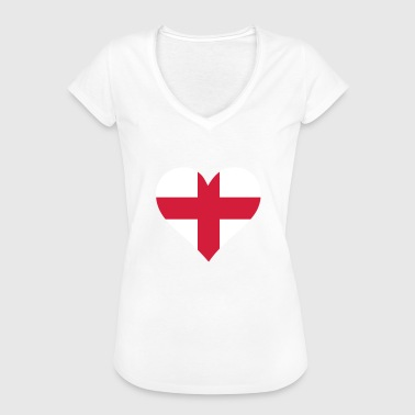 Heart England A Heart For England - Women's Vintage T-Shirt