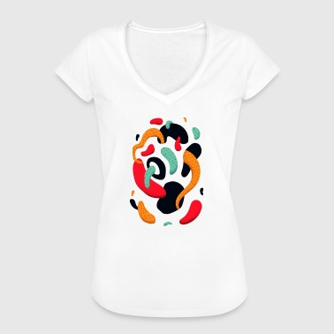 Abstract - T-shirt vintage Femme