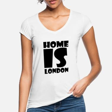 London London - Hjemme er London - Hjemme er London - Vintage T-shirt dame