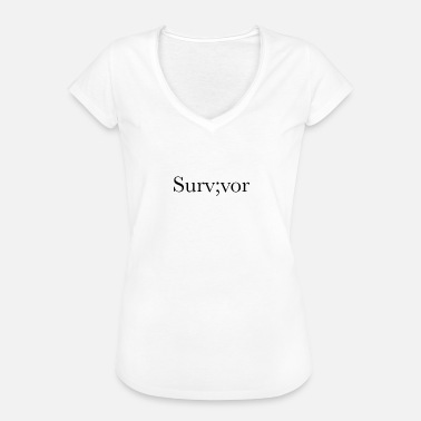 Survivors Survivor - Women's Vintage T-Shirt
