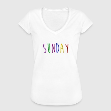 Saturday Sunday Sunday - Women's Vintage T-Shirt