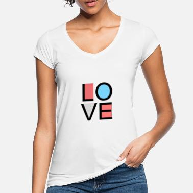 Lovely love - Women's Vintage T-Shirt
