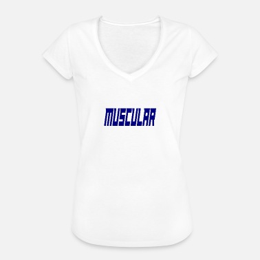 Muscles Motivation musclé - T-shirt vintage Femme