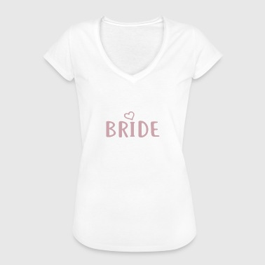 Bachelorette Bride Bride - Bachelorette Party - BRIDE Print - Women's Vintage T-Shirt