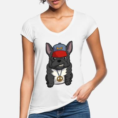 Rapper Bulldog francese Frenchie Bully - Maglietta vintage donna