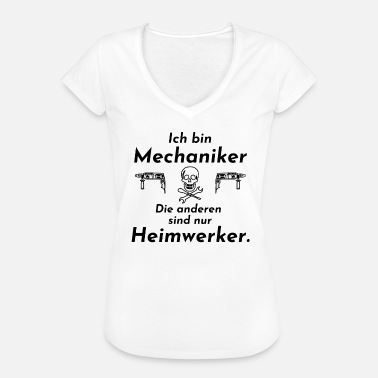 Home Improvement Mechanic vs home improvement - Women's Vintage T-Shirt