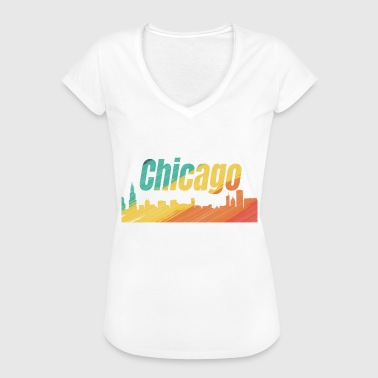 Trendy City Chicago city - Women's Vintage T-Shirt