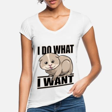 I DO WHAT I WANT. I do what I want. - Women's Vintage T-Shirt