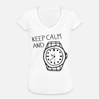 R Crown Keep Calm and R ... - Women's Vintage T-Shirt