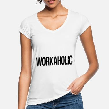 Workaholic workaholic - Vintage T-shirt dam