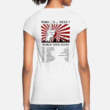 Antinuclear Desastres nucleares de fuerza antinuclear - Camiseta vintage mujer