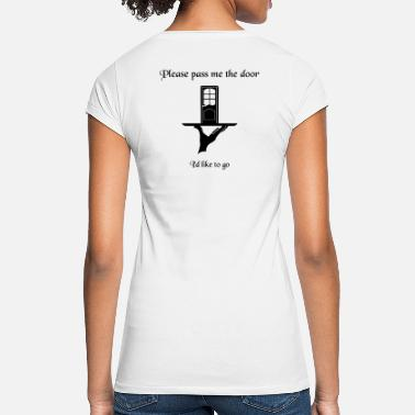 Please pass the door BP B BvyE - Women's Vintage T-Shirt