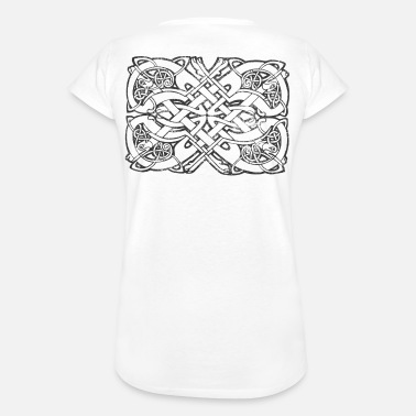 Runen Tribal Tattoo Viking knot / tribal / runes - Frauen Vintage T-Shirt