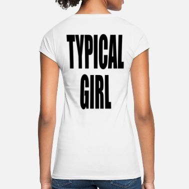 Typical Typical Girl Typical girl - Women's Vintage T-Shirt