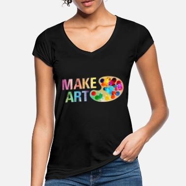 MAKE ART - Women's Vintage T-Shirt