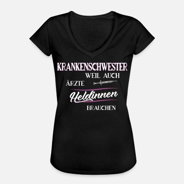 Ambulance Paramedic Nurse hospital ambulance paramedic - Women's Vintage T-Shirt