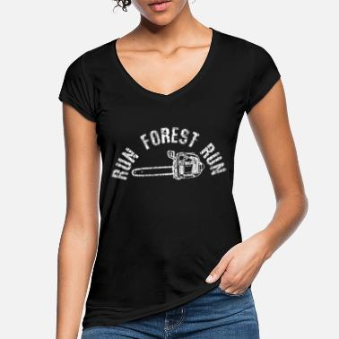 Chain Holzfaeller chain saw saying gift - Women's Vintage T-Shirt