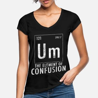 Confusion To confusion element of confusion - Women's Vintage T-Shirt