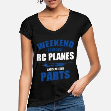 Model Airplane model airplane - Women's Vintage T-Shirt