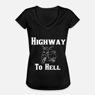 Highway To Hell Highway to Hell - Naisten vintage t-paita