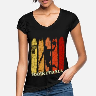 Basketballspiller Basketballspiller - Vintage T-skjorte for kvinner